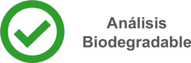 Analisis biodegrable