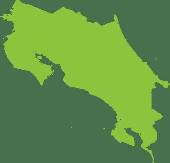 icono mapa de Costa Rica