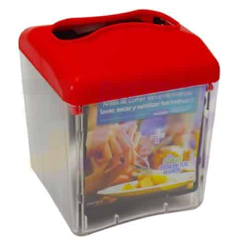 Dispensador Advertising Servilletas interfoliadas rojo 30198110