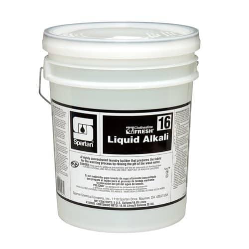 16 Liquid Alkali Form Lavadora Tunel 5gl