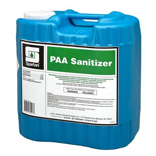 Paa sanitizer