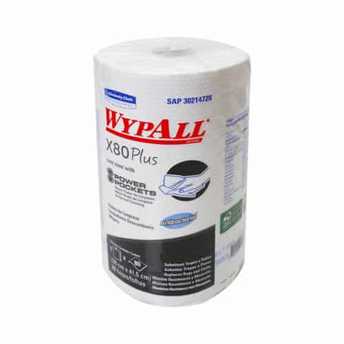 00028 KCP TOA IND WYPALL X80 RR PP ANTIBC 6X80