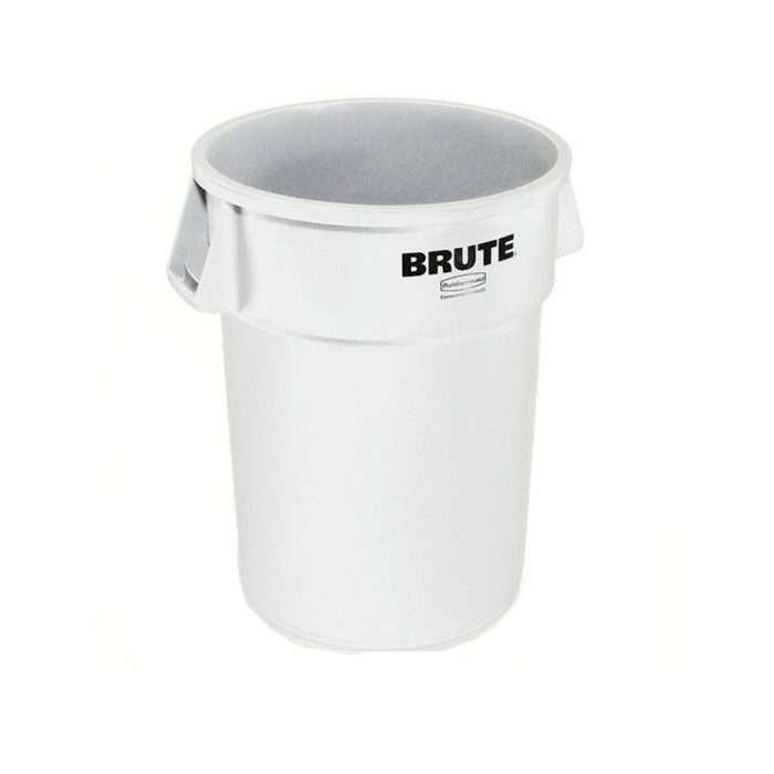 Basurero Brute Blanco