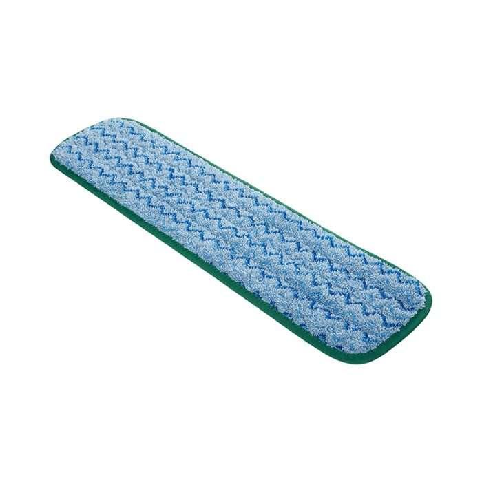 Microfibra Para Humedo Azul Borde Verde 18