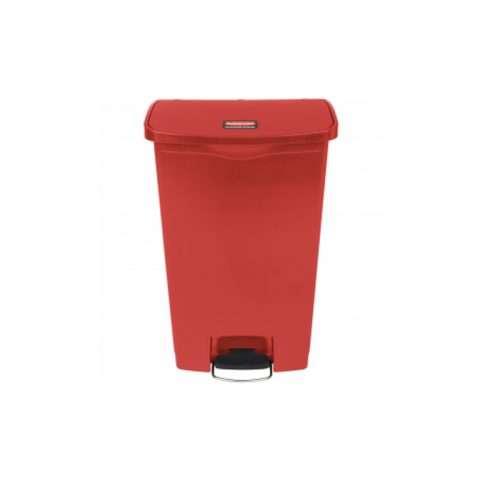 basurero de pedal rojo 18 gl016145R