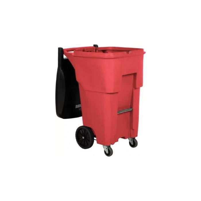basurero tipo roll out rojo01972000RD