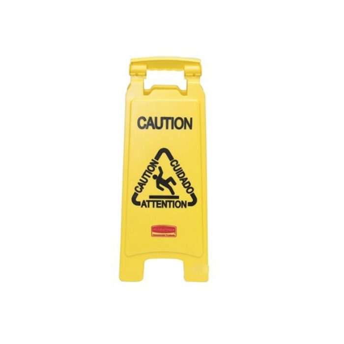 señal de piso mojado